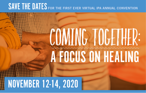 IPA Save the Date for the 2020 Virtual Convention